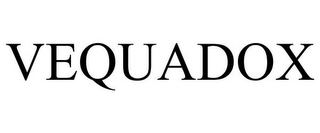 mark for VEQUADOX, trademark #85007215