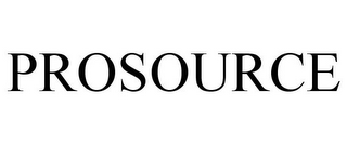 mark for PROSOURCE, trademark #85008184