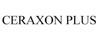 mark for CERAXON PLUS, trademark #85010217
