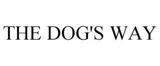 mark for THE DOG'S WAY, trademark #85010466