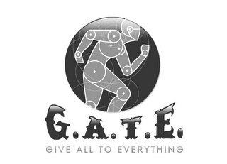 mark for G.A.T.E. GIVE ALL TO EVERYTHING, trademark #85010904