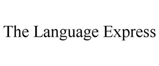 mark for THE LANGUAGE EXPRESS, trademark #85012100