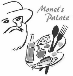 mark for MONET'S PALATE, trademark #85012690