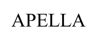 mark for APELLA, trademark #85013237