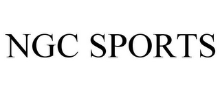 mark for NGC SPORTS, trademark #85014617