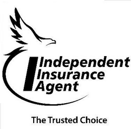 mark for I INDEPENDENT INSURANCE AGENT THE TRUSTED CHOICE, trademark #85015063