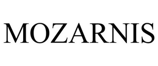 mark for MOZARNIS, trademark #85015767