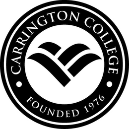 mark for CARRINGTON COLLEGE FOUNDED 1976, trademark #85015795