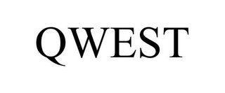 mark for QWEST, trademark #85016010