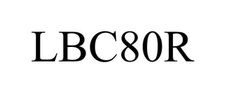 mark for LBC80R, trademark #85016119