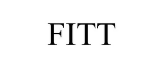 mark for FITT, trademark #85019454