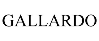 mark for GALLARDO, trademark #85020074