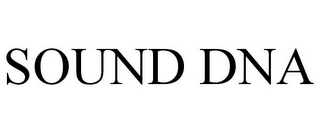 mark for SOUND DNA, trademark #85021446