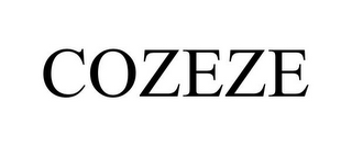 mark for COZEZE, trademark #85025330