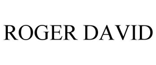 mark for ROGER DAVID, trademark #85026088