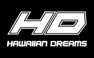 mark for HD HAWAIIAN DREAMS, trademark #85027120