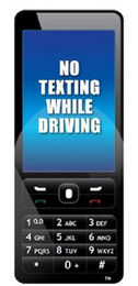 mark for NO TEXTING WHILE DRIVING, trademark #85027260