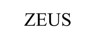 mark for ZEUS, trademark #85027460