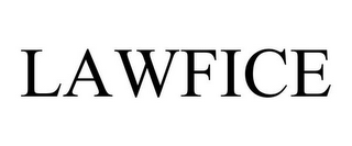 mark for LAWFICE, trademark #85028685