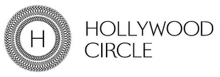 mark for H HOLLYWOOD CIRCLE, trademark #85030943
