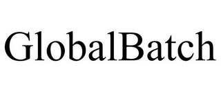 mark for GLOBALBATCH, trademark #85030995