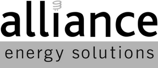 mark for ALLIANCE ENERGY SOLUTIONS, trademark #85031198