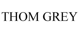mark for THOM GREY, trademark #85032330