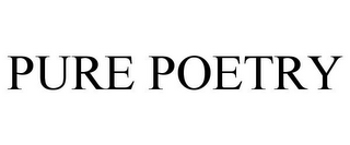 mark for PURE POETRY, trademark #85032659