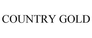 mark for COUNTRY GOLD, trademark #85032680