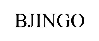 mark for BJINGO, trademark #85032695