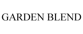 mark for GARDEN BLEND, trademark #85033909