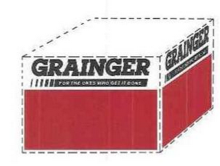 mark for GRAINGER FOR THE ONES WHO GET IT DONE, trademark #85034181
