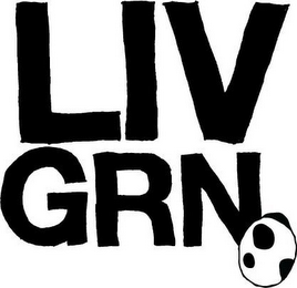 mark for LIV GRN, trademark #85034205