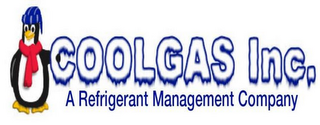 mark for COOLGAS INC. A REFRIGERANT MANAGEMENT COMPANY, trademark #85035493