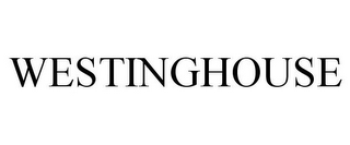 mark for WESTINGHOUSE, trademark #85035610