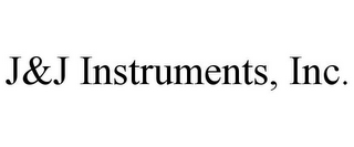mark for J&J INSTRUMENTS, INC., trademark #85036495