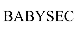 mark for BABYSEC, trademark #85036679