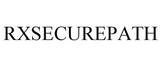 mark for RXSECUREPATH, trademark #85036751