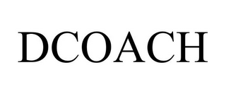mark for DCOACH, trademark #85037785