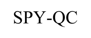 mark for SPY-QC, trademark #85038744