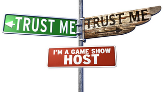mark for TRUST ME TRUST ME I'M A GAME SHOW HOST, trademark #85039396