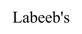mark for LABEEB'S, trademark #85041581