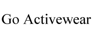 mark for GO ACTIVEWEAR, trademark #85042114