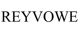 mark for REYVOWE, trademark #85042347