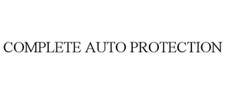 mark for COMPLETE AUTO PROTECTION, trademark #85042933