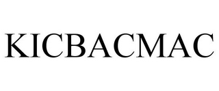 mark for KICBACMAC, trademark #85044577