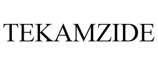mark for TEKAMZIDE, trademark #85044604
