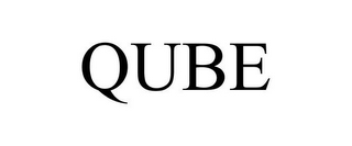 mark for QUBE, trademark #85044610