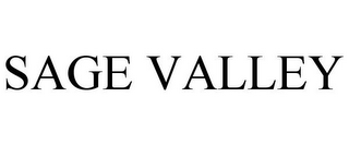 mark for SAGE VALLEY, trademark #85044660