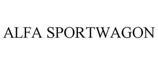 mark for ALFA SPORTWAGON, trademark #85044944